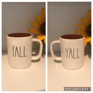 Rae Dunn FALL YALL mug